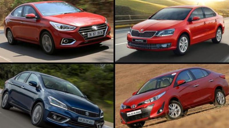 Verna's April demand is more than its average sale in the last six months.