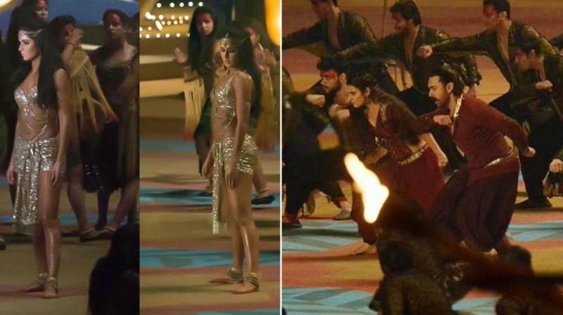 Katrina Kaif, Aamir Khan, Fatima Sana Shaikh's look from 'Thugs Of Hindostan' leaked.