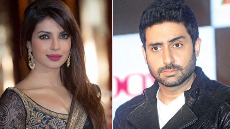 Priyanka Chopra and Abhishek Bachchan