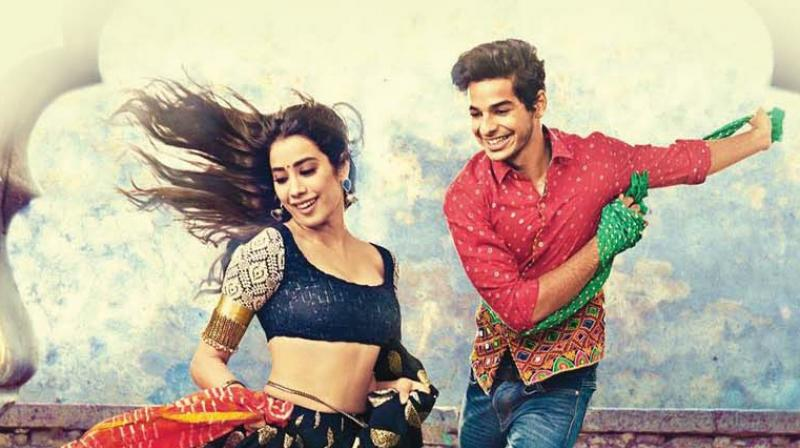 The first look poster for Dhadak.