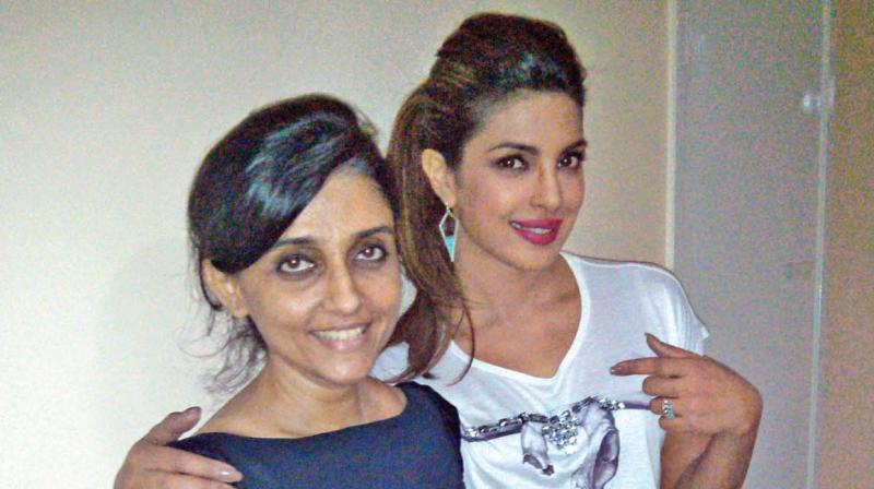 Ami with Priyanka Chopra.