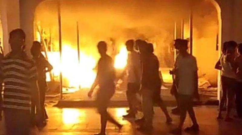 Chennai: Sathyabama University students told to vacate hostel after violent protest