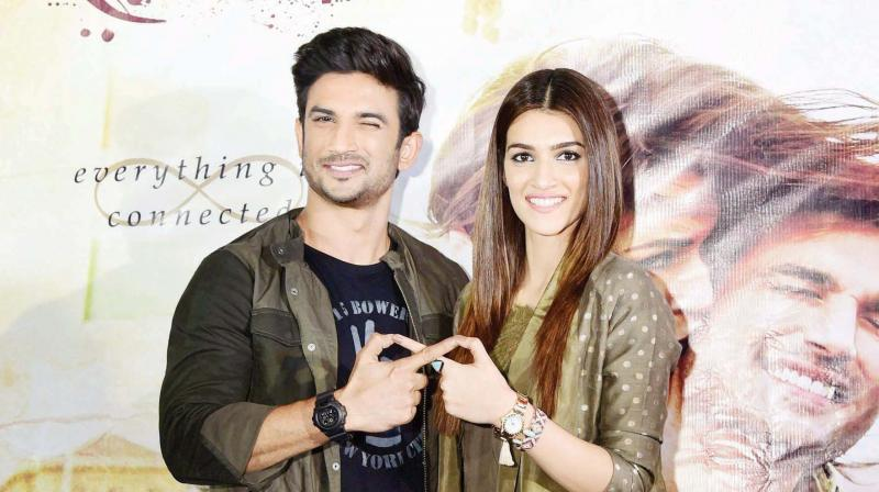 Sushant Singh Rajput, Kriti Sanon love spending time together