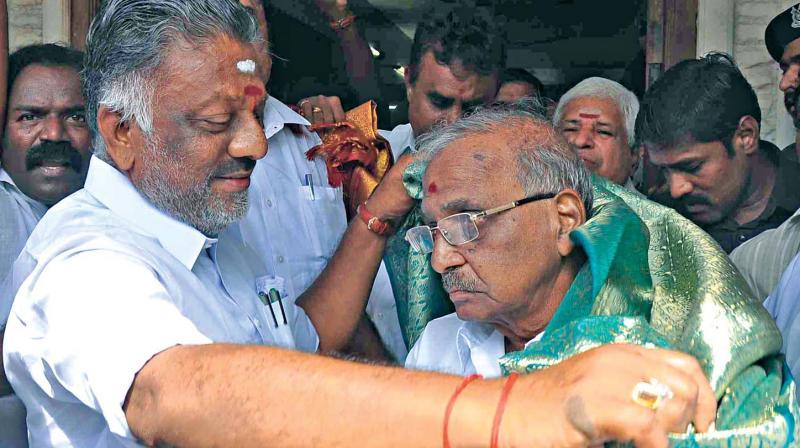 AIADMK nominates Madhusudhanan for RKNagar bypoll