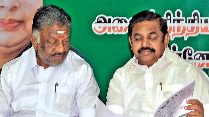 AIADMK on Wednesday expelled Tamil Nadu deputy chief minister O Panneerselvam's brother O Raja from primary membership of the party. (Photo: File)