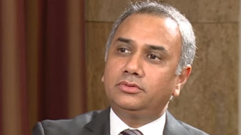 Infosys' new CEO Salil Parekh. (Photo: YouTube)