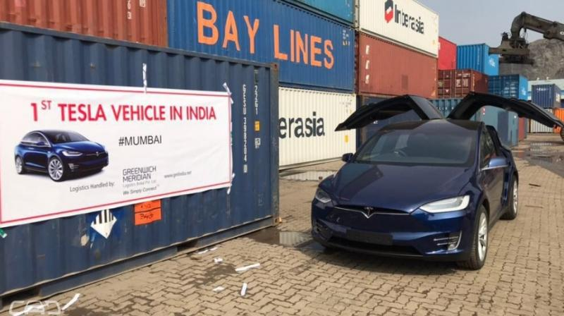 It's possibly a personal vehicle and not a sign of Tesla's official entry into the Indian market.