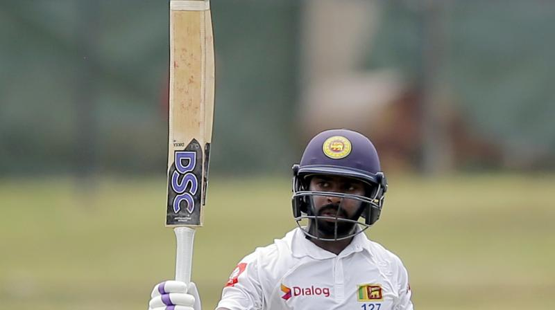 Niroshan Dickwella has been denied a No-Objection Certificate (NOC) by Sri Lanka Cricket (SLC) to participate in the ongoing Caribbean Premier League (CPL). (Photo:AP)