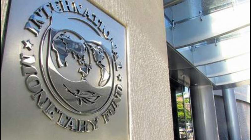 The IMF on Tuesday trimmed India's growth forecast by 90 basic points to 6.1 per cent. This is second downward revision in seven months and in total 120 basis points reduction. (Photo: FIle)