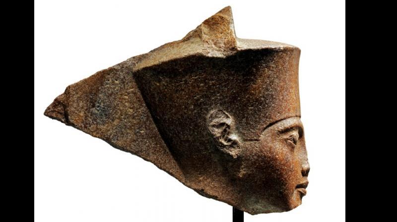 The statue of Pharoah Tutankhamun (Photo: AFP)