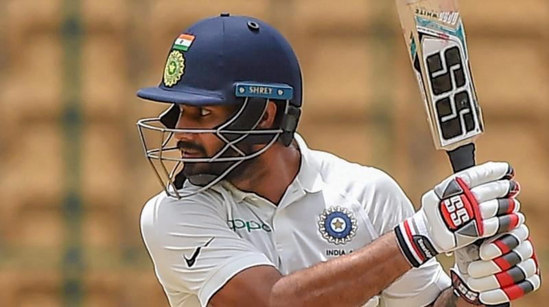 Hanuma Vihari received his maiden India call-up after he and Prithvi Shaw were picked to join Virat Kohli and co for the last two Tests against England. (Photo: PTI)