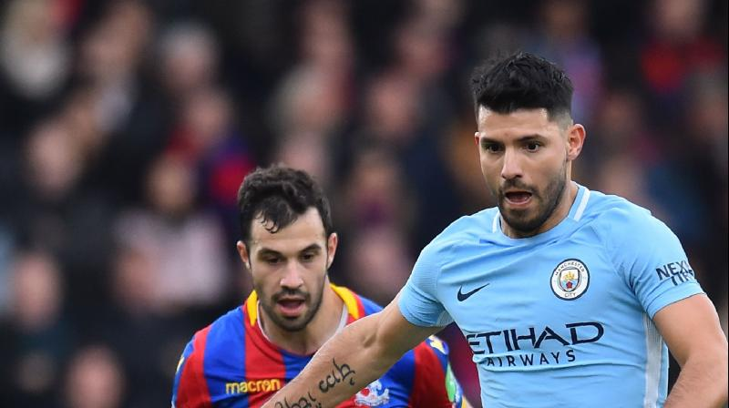 Manchester City's record 18-game winning run in the Premier League ended with a 0-0 draw at Crystal Palace on Sunday, leaving the leaders 14 points clear heading into the new year.(Photo: AFP)
