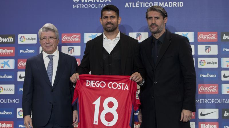 It was in September that Atletico Madrid announced the signing of Diego Costa from Chelsea. (Photo: AP)