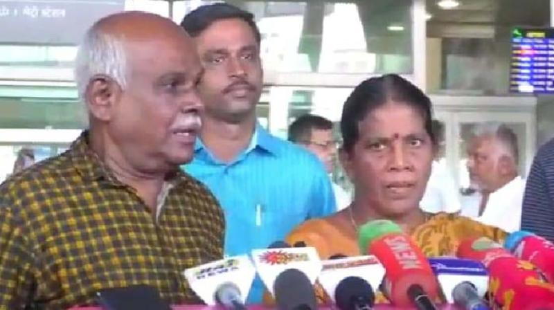 Recommended for bravery award by the district administration, the district collector was ordered to send the couple to Chennai to participate in the Independence day celebrations.