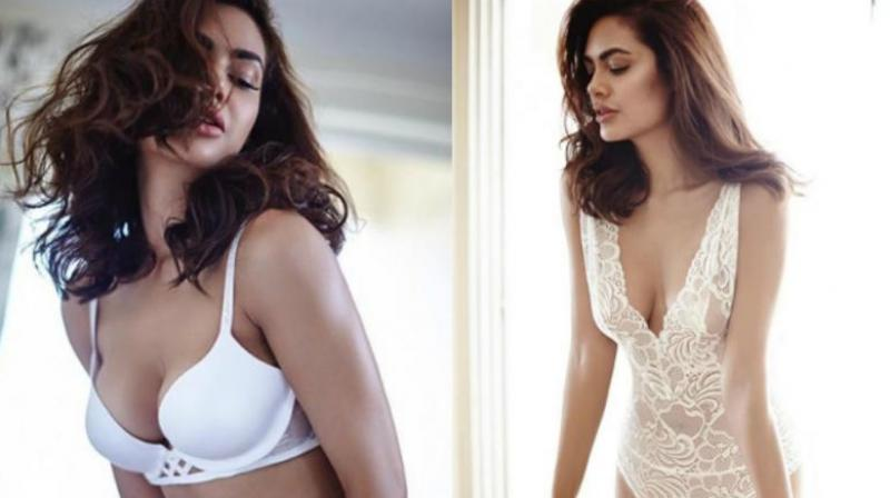 Some of Esha Gupta's pictures which she didn't delete.