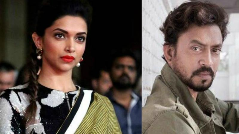 Deepika Padukone and Irrfan.