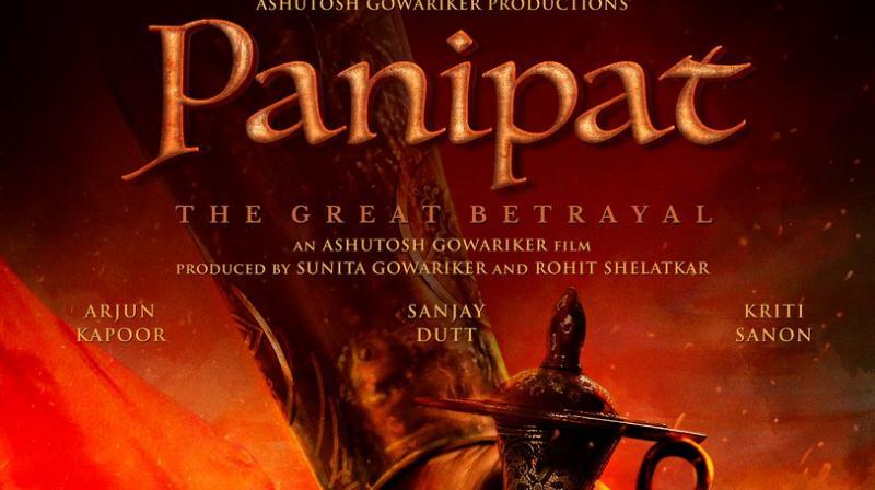Panipat first poster.