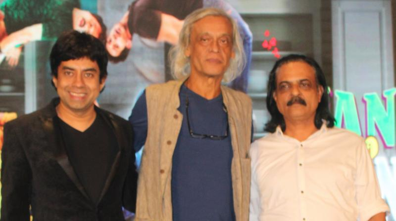'DaasDev' director Sudhir Mishra was present at 'Nanu Ki Jaanu' trailer launch.