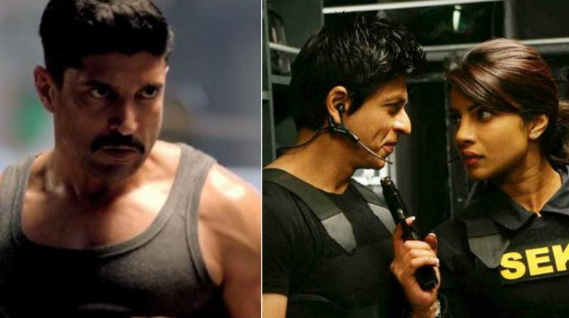 In the first two Don films, Priyanka Chopra played Roma, the Interpol inspector, who tries to arrest Don.