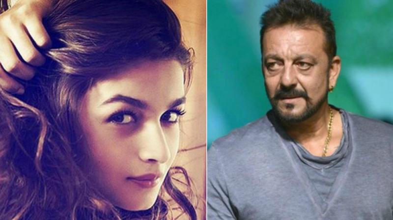Alia Bhatt and Sanjay Dutt.