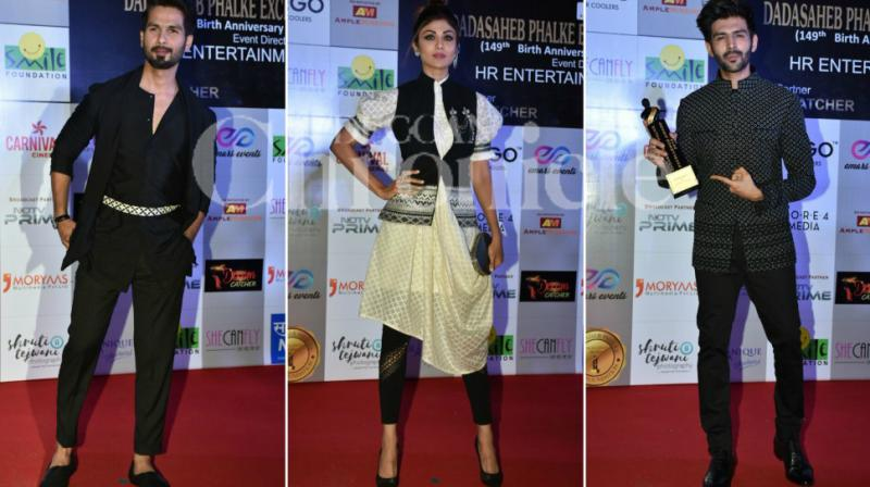 It was a starry affair when popular faces from the silver screen attended the Dadasaheb Phalke Excellence Awards 2018 that was held here on Saturday.