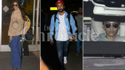 Taimur Ali Khan might be back in town, but this time it was Ranbir Kapoor, Deepika Padukone and Sonam Kapoor who managed to gain limelight for their night appearances at the airport and elsewhere. Here are some other stars who were spotted: