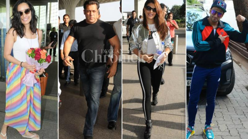 It seemed to be a happy day for Bollywood stars as Shraddha Kapoor treated herself with flowers, Ranveer Singh finally got healed, Salman Khan and Jacqueline Fernandez could be on track and others could keep a tab on their health and fitness.