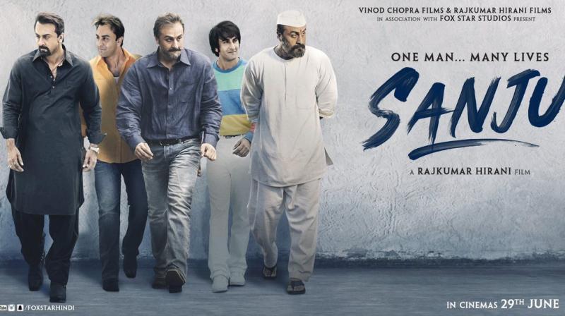 Image result for sanju movie poster