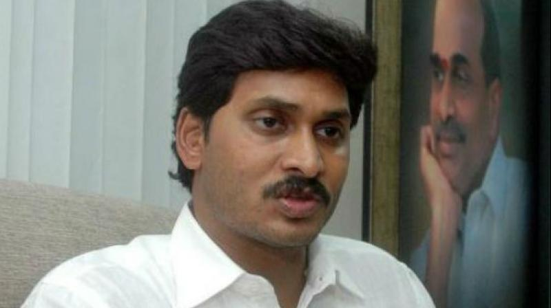 YSR Congress president YS Jagan Mohan Reddy on Friday accused the TDP of orchestrating former MP, YS Vivekananda Reddy's murder and demanded a CBI probe in the matter. (Photo: File)