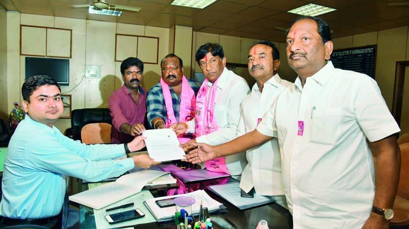 TRS Lok Sabha candidate Boinapalli Vinod Kumar (Photo: DC)