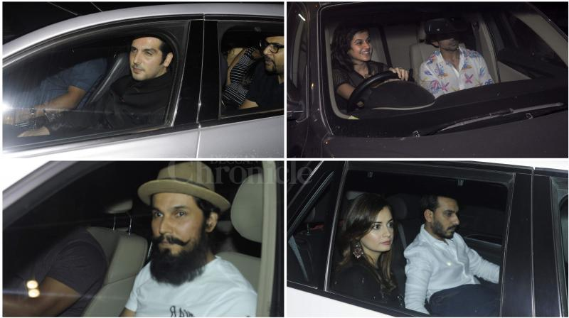 Bollywood celebrities attended Jackyy Bhagnani (Photo: Viral Bhayani)