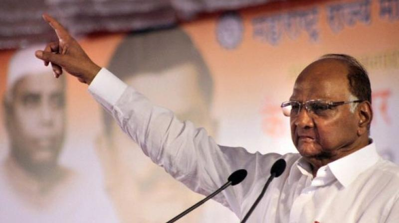 Addressing the gathering, Pawar took potshots at the RSS and BJP without naming them. (Photo: File)