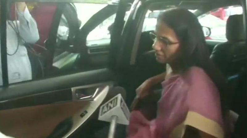 Sources said Kochhar is required to assist the investigating officer of the case in taking the probe forward and her statement will be recorded under the Prevention of Money Laundering Act (PMLA). (Photo: ANI | Twitter)