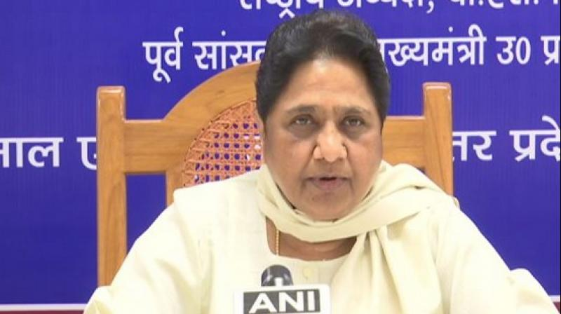 Unleashing a personal attack on the Prime Minister, Mayawati claimed that Modi left his wife for vested political gains.(Photo: File)