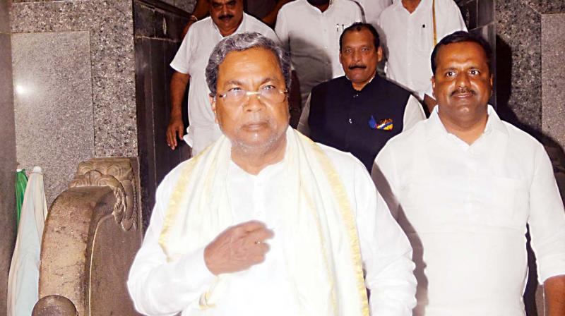 Karnataka Chief Minister Siddaramaiah said the election had brought 'tourists like Shah' who display ignorance about the state. (File photo)