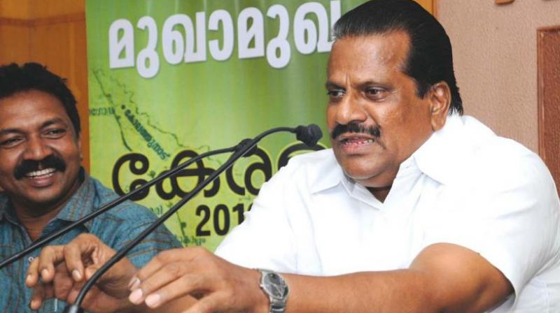 Kerala Industries Minister EP Jayarajan (Photo: DC)