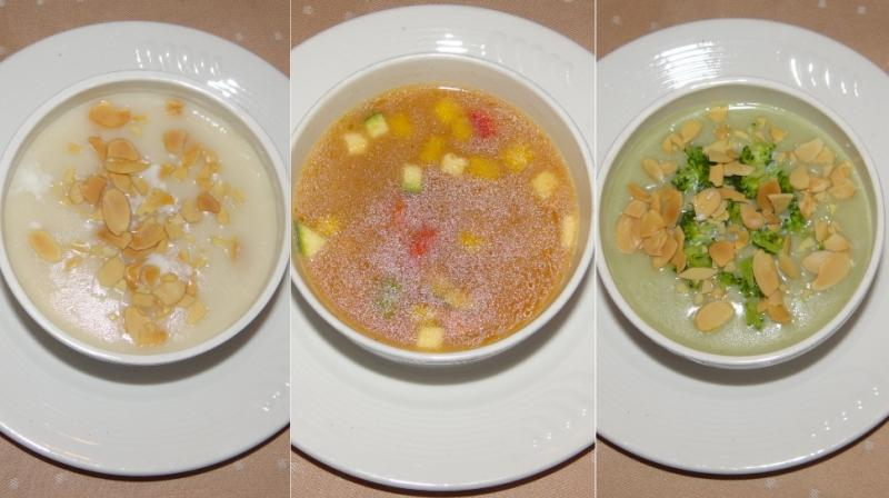 Here are 3 soup recipes to warm your winter evenings: