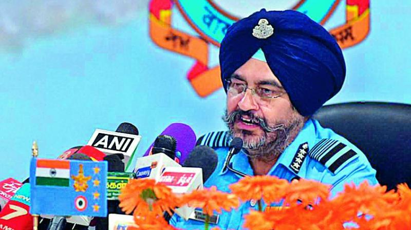 IAF hits targets, doesn't count casualties: Air Chief