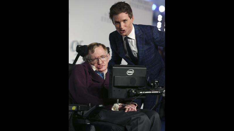 Stephen Hawking's life was famously made into the movie The Theory Of Everything starring Eddie Redmayne. (Photo: AP)