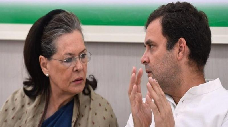Congress leaders are worried about the upcoming session of Parliament that it may cause embarrassment to the party. (Photo: ANI)