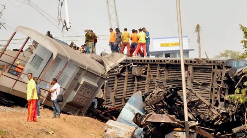 A few months ago, a diesel tanker overturned near Gostani bridge at Tagarapuvalasa area in Vizag city. (Representational image/ Photo:PTI))