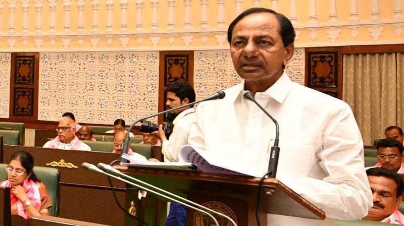 Chief Minister K. Chandrasekhar Rao