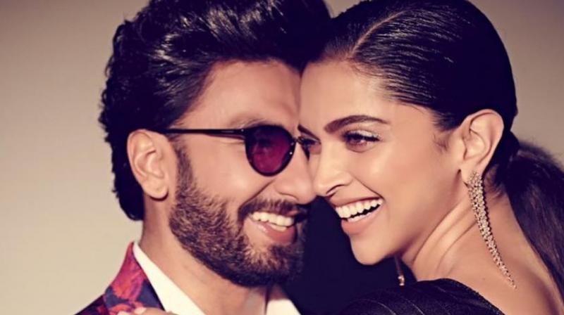 Deepika Padukone and Ranveer Singh.