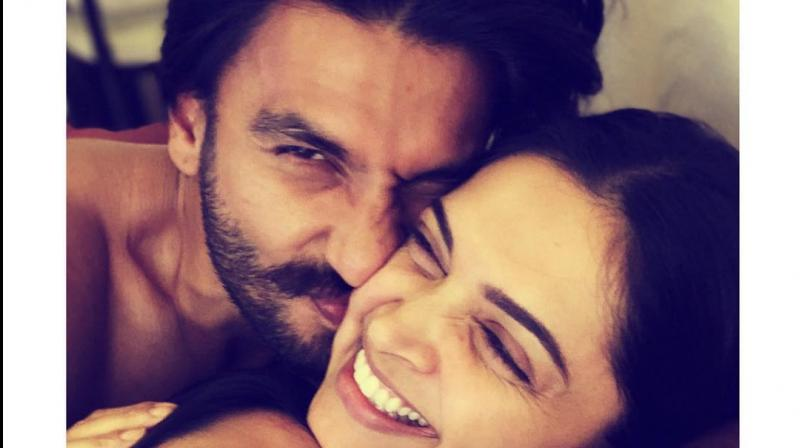 It's 'Cuddles And Snuggles' time for Ranveer-Deepika but who's third person; find out