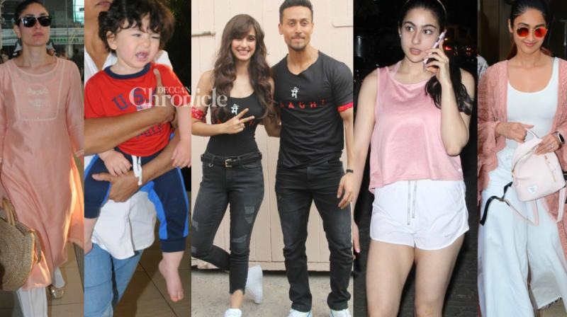 Bollywood stars were clicked at various locations in Mumbai on Thursday for professional and personal commitments. (Photo: Viral Bhayani)