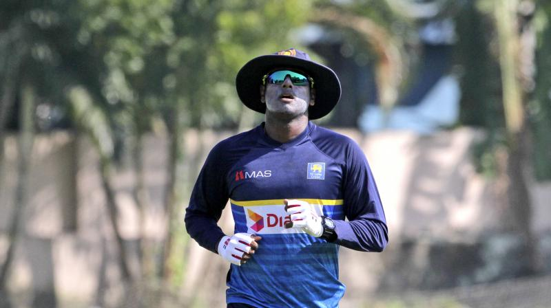 Angelo Mathews will lead the Sri Lankan side against South Africa in the ODIs. (Photo: AP)