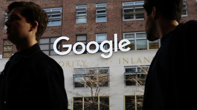 Google has New York real estate deals in the works that would give it room for nearly 20,000 workers. (AP Photo/Mark Lennihan, File)