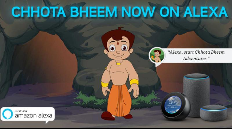 Experience an interactive adventure with Chhota Bheem