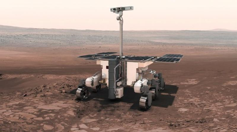 The European-Russian ExoMars also will sniff out possible past life. (Photo: AP)