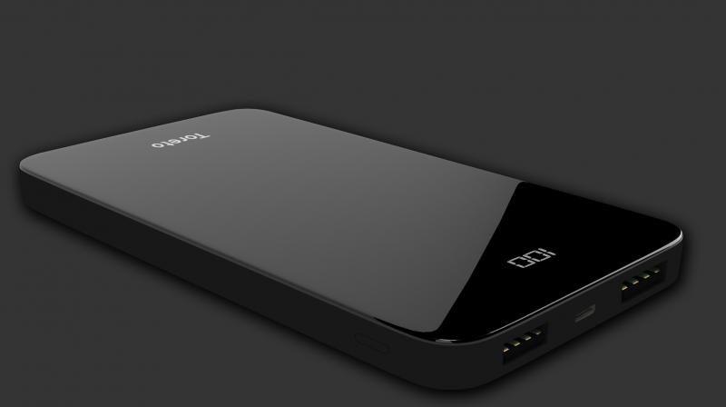 The design of BRIO 2 includes dual input as well as output ports allowing charging of the power bank twice as quickly.